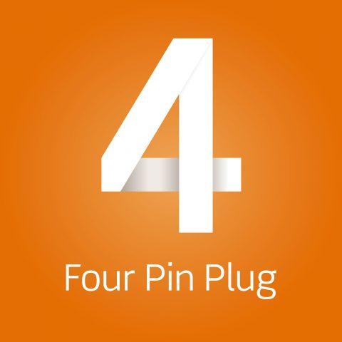Four Pin Plug agency logo