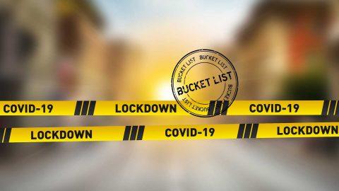 Coronavirus lockdown bucket list