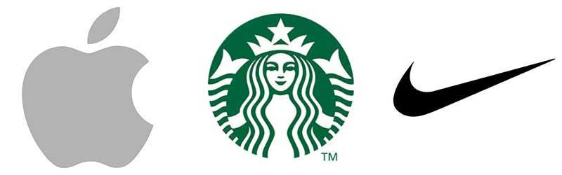 Pictorial types of logos